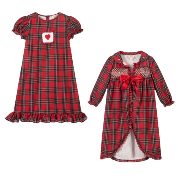 Caramelo Tartan Nightgown Set